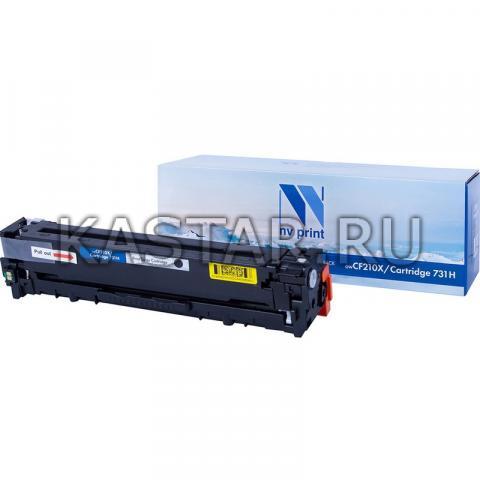 Картридж NVP совместимый NV-CF210A | NV-731 Black для HP LaserJet Color Pro M251n | M251nw | M276n | M276nw | Canon LBP-7100Cn | 7110Cw Черный (Black) 1600стр.