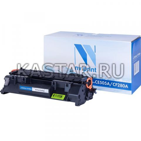 Картридж NVP совместимый NV-CF280A | CE505A для HP LaserJet Pro M401d | M401dn | M401dw | M401a | M401dne | MFP-M425dw | M425dn | P2035 | P2035n | P2055 | P2055d | P2055dn | P2055d Черный (Black) 2700стр.