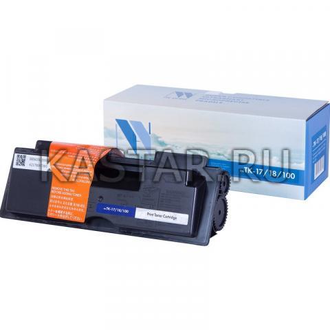 Картридж NVP совместимый NV-TK-17 | 18 | 100 для Kyocera FS-1000+ | 1010 | 1050 | FS-1018MFP | 1118MFP Черный (Black) 7200стр.