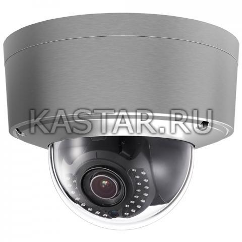 Купольная IP-камера с Motor-zoom Hikvision DS-2CD6626DS-IZHS для агрессивных сред