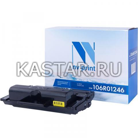 Картридж NVP совместимый NV-106R01246 для Xerox Phaser 3428 Черный (Black) 8000стр.