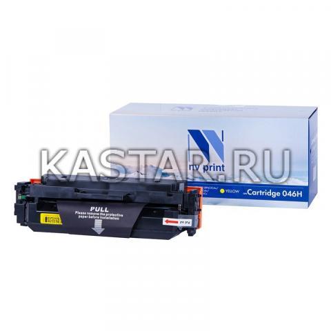 Картридж NVP совместимый NV-046H Yellow для Canon  i-SENSYS LBP653Cdw | LBP654Cx | MF732Cdw | MF734Cdw | MF735Cx Желтый (Yellow) 5000стр.