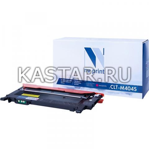 Картридж NVP совместимый NV-CLT-M404S Magenta для Samsung SL-C430 | C430W | C480 | C480W | C480FW Пурпурный (Magenta) 1000стр.