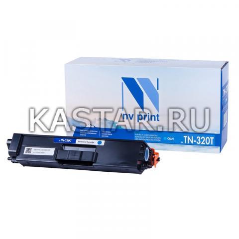 Картридж NVP совместимый NV-TN-320T Cyan для Brother HL-4140CN | 4150CDN | 4570CDW | DPC-9055CDN | 9270CDN | MFC-9460CDN | 9465CDN | 9970CDN Голубой (Cyan) 1500стр.