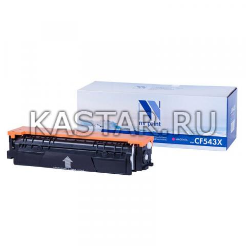 Картридж NVP совместимый NV-CF543X Magenta для HP Color LaserJet Pro M254dw | M254nw | MFP M280nw | M281fdn | M281fdw Пурпурный (Magenta) 2500стр.
