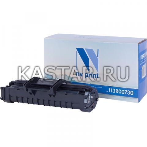 Картридж NVP совместимый NV-113R00730 для Xerox Phaser 3200MFP Черный (Black) 3000стр.