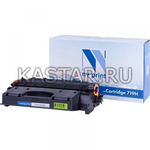 Картридж NVP совместимый NV-719H для Canon  i-SENSYS LBP6300dn | 6310dn | 6650dn | 6670dn | 6680x | MF5840dn | 5880dn | 5940dn | 5980dw Черный (Black) 6400стр.