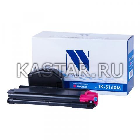 Картридж NVP совместимый NV-TK-5160 Magenta для Kyocera ECOSYS P7040cdn Пурпурный (Magenta) 12000стр.