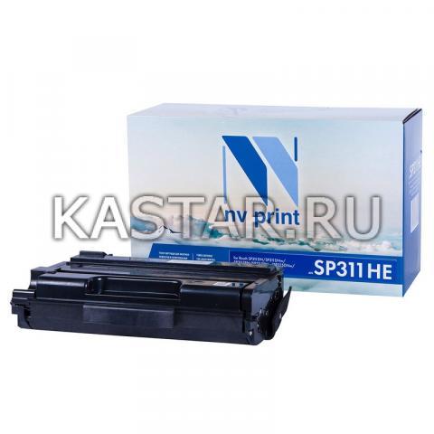 Картридж NVP совместимый NV-SP311HE для Ricoh SP311DN | SP311DNw | SP311SFN | SP311SFNw | SP325DNw | SP325SNw | SP325SFNw Черный (Black) 3500стр.