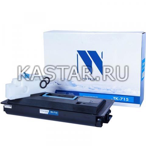 Картридж NVP совместимый NV-TK-715 для Kyocera KM-3050 | 4050 | 5050 Черный (Black) 34000стр.