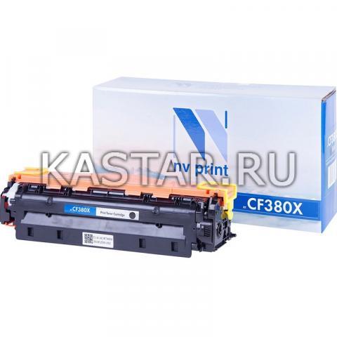 Картридж NVP совместимый NV-CF380X Black для HP LaserJet Color Pro M476dn   M476dw   M476nw Черный (Black) 4400стр.