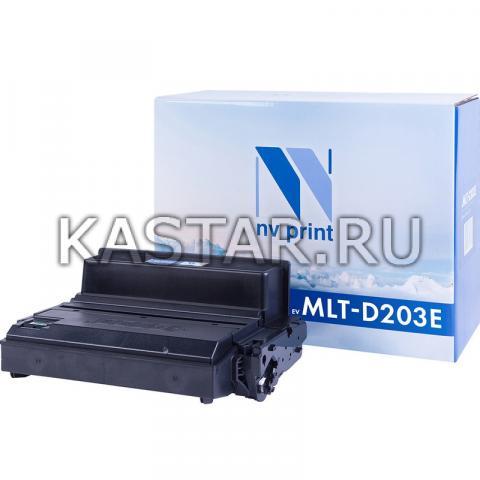 Картридж NVP совместимый NV-MLT-D203E для Samsung SL-M3820 | 4020 | M3870 | 4070 Черный (Black) 10000стр.