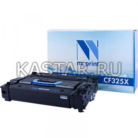 Картридж NVP совместимый NV-CF325X для HP LaserJet Flow M830z | M806x+ | M830z | M806dn | M806x Черный (Black) 40000стр.