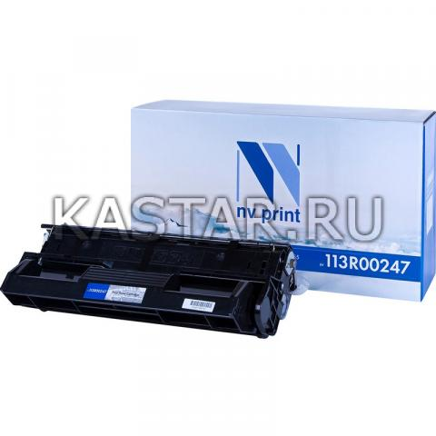 Картридж NVP совместимый NV-113R00247 для Xerox DocuPrint 255 Черный (Black) 10000стр.