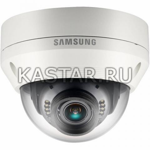 Вандалостойкая аналоговая камера 1000 TVL Wisenet Samsung SCV-5081RP с вариофокальным объективом