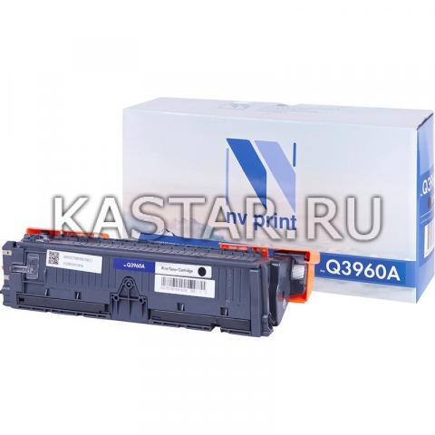 Картридж NVP совместимый NV-Q3960A Black для HP LaserJet Color 2820 | 2840 | 2550L | 2550Ln | 2550n | 3000 | 3000n | 3000dn | 3000dtn Черный (Black) 5000стр.