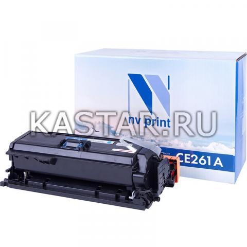 Картридж NVP совместимый NV-CE261A Cyan для HP LaserJet Color CP4025n | CP4025dn | CP4525n | CP4525dn | CP4525xn Голубой (Cyan) 11000стр.