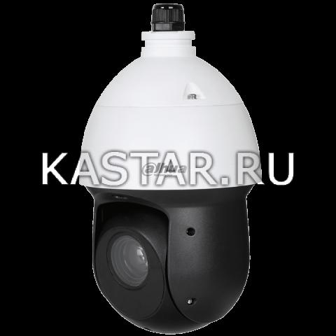 Уличная поворотная 1 Мп CVI-камера Dahua DH-SD49131I-HC-S3 с оптикой 31* и подсветкой 100 м