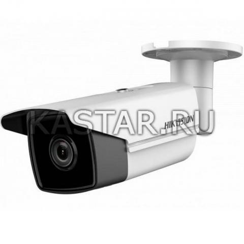 Сетевая 8 Мп bullet-камера Hikvision DS-2CD2T85FWD-I8 с EXIR-подсветкой до 80 м и WDR 120 дБ