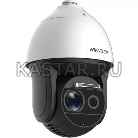 Уличный IP SpeedDome Hikvision DS-2DF8236I5W-AELW с лазерной ИК-подсветкой до 500 м и дворником