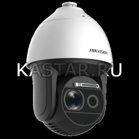 Поворотная 4 Мп IP-камера Hikvision DS-2DF8436I5X-AELW с 36-кратной оптикой, лазерной подсветкой 500 м