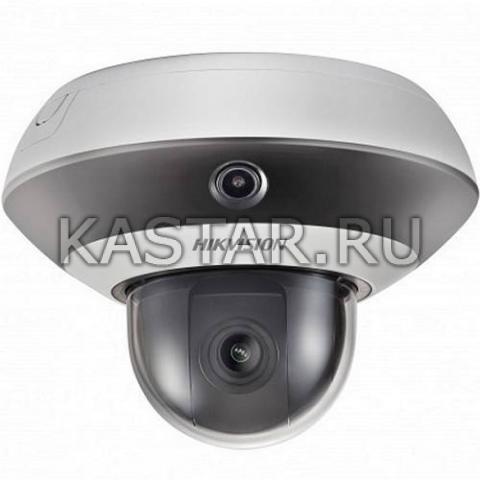 IP-камера серии PanoVu Hikvision DS-2PT3122IZ-DE3 с PTZ-модулем *4 и ИК-подсветкой
