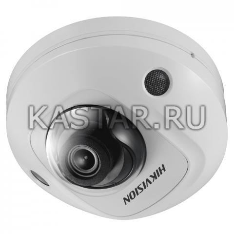 5 Мп IP-камера Hikvision DS-2XM6756FWD-IM (2 мм) для транспорта с обнаружением лиц