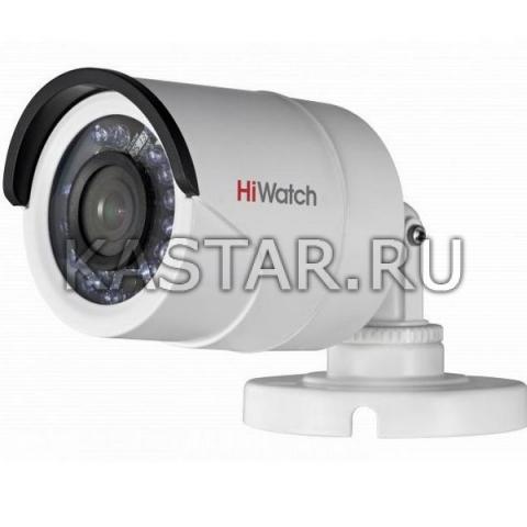 HD-TVI камера HiWatch DS-T200P с ИК-подсветкой и PoC