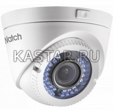 Уличная 2 Мп HD-TVI камера Hiwatch DS-T209P с motor-zoom и ИК-подсветкой