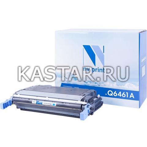 Картридж NVP совместимый NV-Q6461A Cyan для HP LaserJet Color 4730 | MFP-4730x | 4730xm | 4730xs | CM4730 | CM4730f | CM4730fm | CM4730fsk Голубой (Cyan) 12000стр.