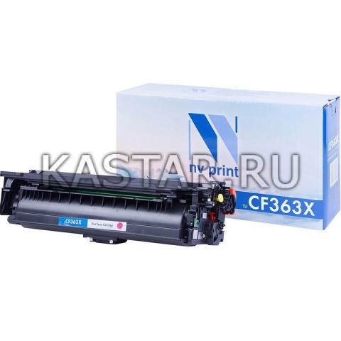Картридж NVP совместимый NV-CF363X Magenta для НР  LJ Color M552 | M553 Пурпурный (Magenta) 9500стр.