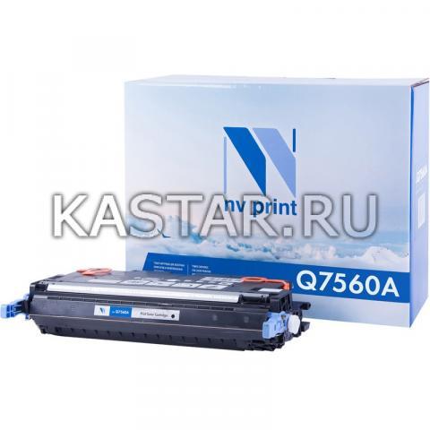 Картридж NVP совместимый NV-Q7560A для HP LaserJet Color 2700 | 3000 Черный (Black) 6500стр.