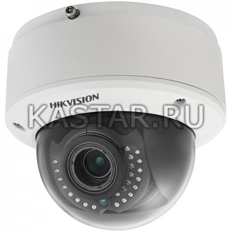 Внутренний 12Мп купол Hikvision DS-2CD41C5F-IZ с аппаратной аналитикой и motor-zoom