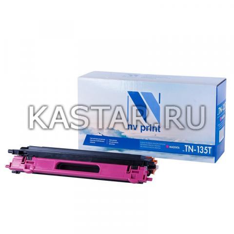 Картридж NVP совместимый NV-TN-135T Magenta для Brother HL-4040CN | 4050CDN | 4070CDW | DCP-9040CN | 9042CDN | 9045CDN | MFC-9440CN | 9450CDN | 9840CDW Пурпурный (Magenta) 4000стр.
