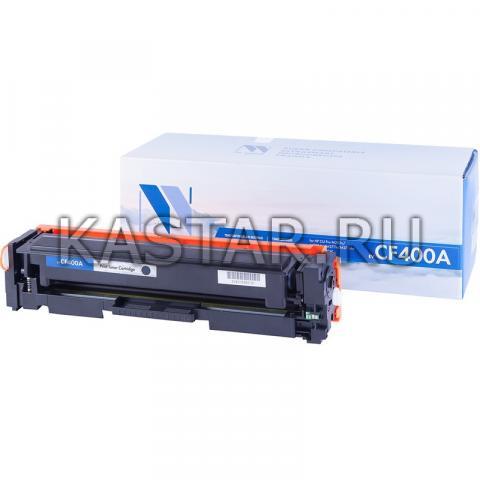 Картридж NVP совместимый NV-CF400A Black для HP LaserJet Color Pro M252dw | MFP-M277dw Черный (Black) 1500стр.