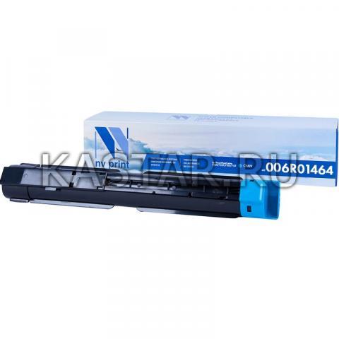 Картридж NVP совместимый NV-006R01464 Cyan для Xerox WorkCentre 7220 | 7225 | 7120 | 7125 Голубой (Cyan) 15000стр.