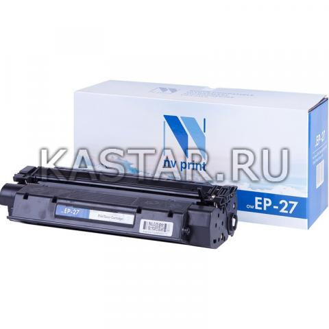 Картридж NVP совместимый NV-EP-27 для Canon i-SENSYS MF3228 | LaserBase MF3110 | MF3240 | MF5630 | MF5650 | MF5730 | MF5750 | MF5770 | LBP-3200 Черный (Black) 2500стр.