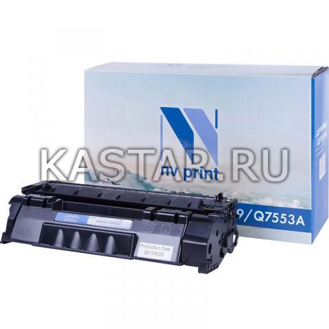 Картридж NVP совместимый NV-Q5949A | Q7553A для HP LaserJet 1160 | 1320tn | 3390 | 3392 | P2014 | P2015 | P2015dn | P2015n | P2015x | M2727nf | M2727nfs Черный (Black) 3000стр.