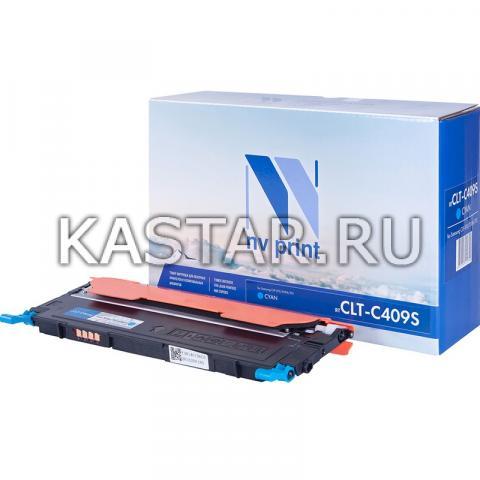 Картридж NVP совместимый NV-CLT-C409S Cyan для Samsung CLP-310 | 310N | 315 Голубой (Cyan) 1000стр.