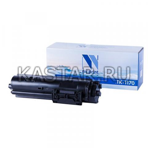 Картридж NVP совместимый NV-TK-1170 (БЕЗ ЧИПА) для Kyocera ECOSYS M2040dn   M2540dn   M2640idw Черный (Black) 7200стр.