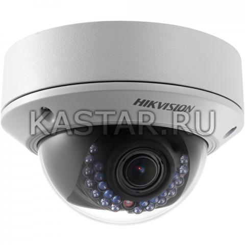 Вандалозащищенная купольная 4Мп IP-камера Hikvision DS-2CD2742FWD-IS