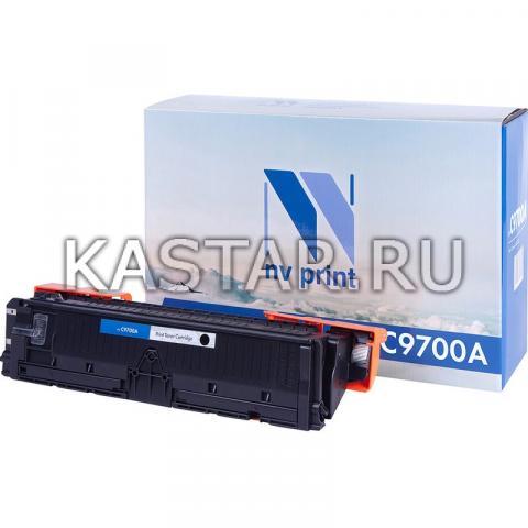 Картридж NVP совместимый NV-C9700A для HP LaserJet Color 1500 | 2500 Черный (Black) 5000стр.