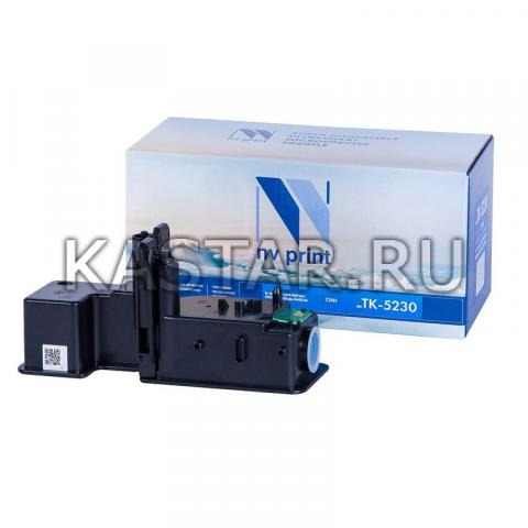 Картридж NVP совместимый NV-TK-5230 Cyan для Kyocera ECOSYS P5021cdw | P5021cdn | M5521cdw | M5521cdn Голубой (Cyan) 2200стр.