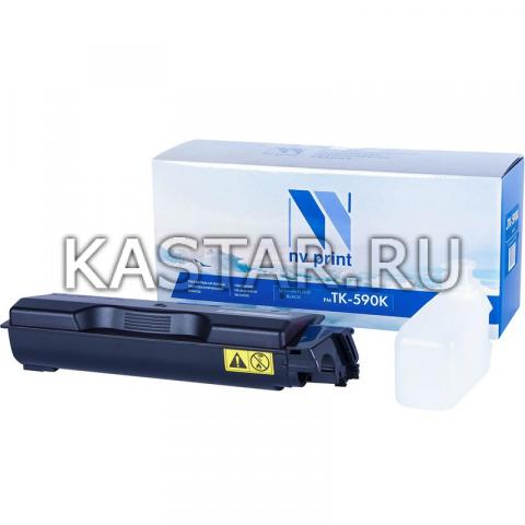 Картридж NVP совместимый NV-TK-590 Black для Kyocera FS-C2026MFP | C2126 | C2526MFP | C2626 | C5250DN | P6026cdn | M6026cdn | M6526cdn Черный (Black) 7000стр.