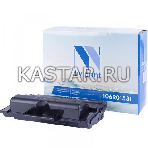 Картридж NVP совместимый NV-106R01531 для Xerox WorkCentre 3550 Черный (Black) 11000стр.