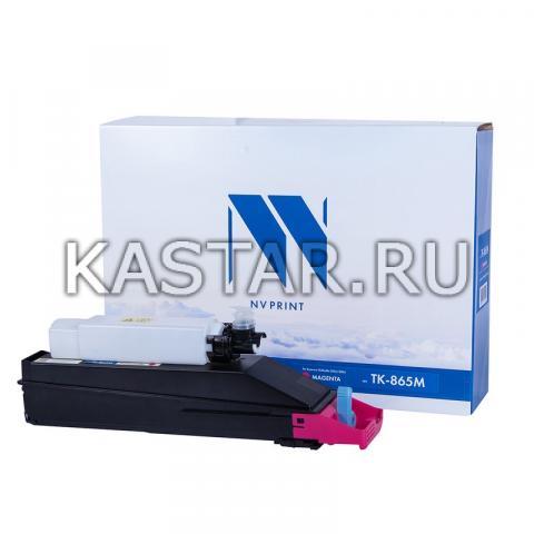 Картридж NVP совместимый NV-TK-865 Magenta для Kyocera TASKalfa 250ci | 300ci Пурпурный (Magenta) 12000стр.