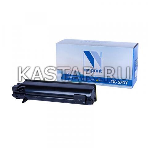 Картридж NVP совместимый NV-TK-570 Yellow для Kyocera FS-C5400DN | ECOSYS P7035cdn Желтый (Yellow) 12000стр.