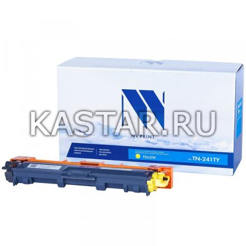 Картридж NVP совместимый NV-TN-241T Yellow для Brother HL-3140CW | 3150CDW | 3170CDW | DCP-9020CDW | MFC-9140CDN | 9330CDW | 9340CDW Желтый (Yellow) 1400стр.