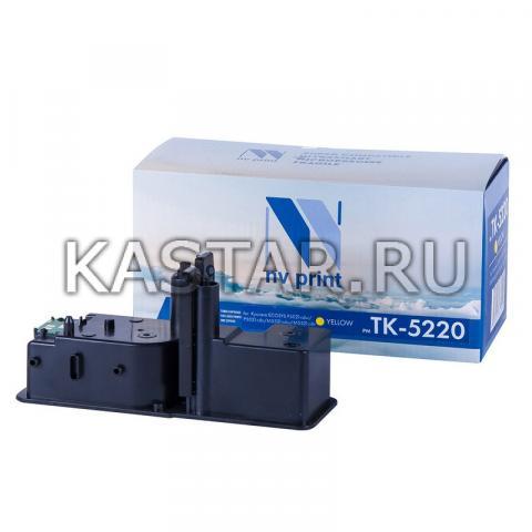 Картридж NVP совместимый NV-TK-5220 Yellow для Kyocera ECOSYS P5021cdw | P5021cdn | M5521cdw | M5521cdn Желтый (Yellow) 1200стр.
