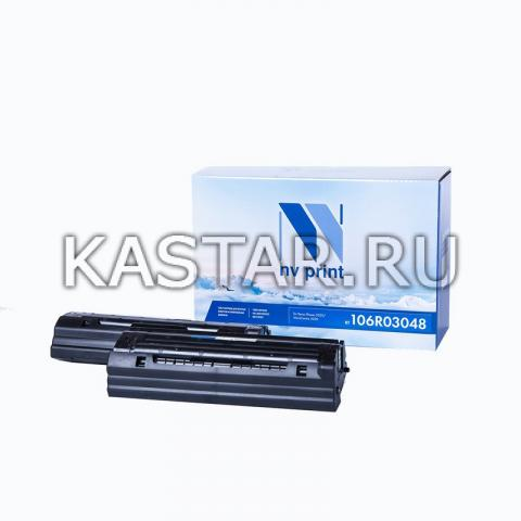 Картридж NVP совместимый NV-106R03048 (2шт в упак) для Xerox Phaser 3020 | WorkCentre 5020 Черный (Black) 3000стр.